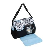 Baby Cute Cat Nappy Bag Mummy Shoulder Bag with Changing Pad