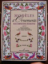 Modèles Ornements Compositions Décoratives Multi Supports Ed Didier Carpentier