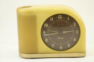 Vintage Westclox Bakelite Moonbeam Clock For Parts or repair