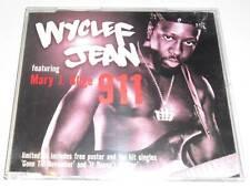 WYCLEF JEAN ft MARY J BLIGE - 911 - DELETED 2000 UK CD SINGLE