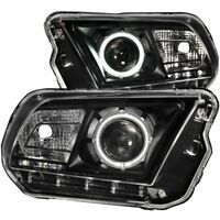 Anzo USA 121323 Projector Headlight Set w/Halo Fits 10-14 Mustang