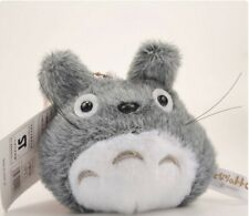 "Totoro Plush Doll Key chain Pendant Stuffed Toys-3""(Gray)"