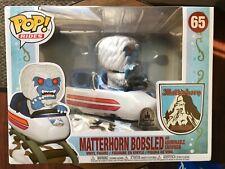 Funko Pop! Rides #65 Matterhorn Bobsled Abominable Snowman Exclusive Disney