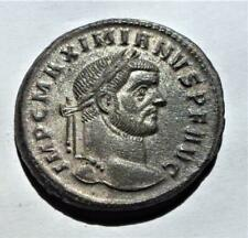 Fantastic grade and detail silvered follis of MAXIMIANUS 26mm diameter