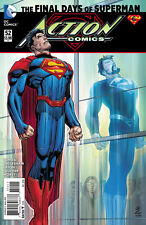 DC ACTION COMICS #52 1ST PRINTING THE FINAL DAYS OF SUPERMAN LAST NEW 52 ISSUE