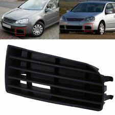 Left Car Front Bumper Fog Light Lamp Grille Vent Cover for VW Golf MK5 2004-2009