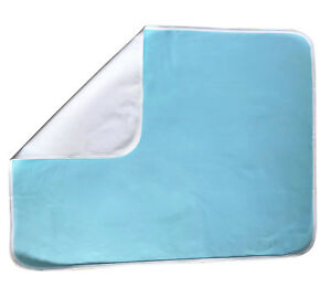 XL INCONTINENCE PAD WASHABLE REUSABLE BED PAD WETTING MATTRESS PROTECTOR COVER