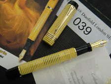 """PARKER Duofold """" Bumblebee """" Limited Edition 2007 London Pen Show #39/100 FP M"""