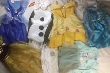 Disney Princess Dress Up Costume Play Lot sz 4-6X Used