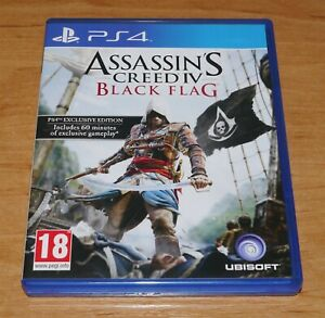 Assassins creed Black flag Game for Sony PS4 Playstation 4