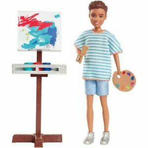 Mattel Barbie Team Stacie Art Class Doll