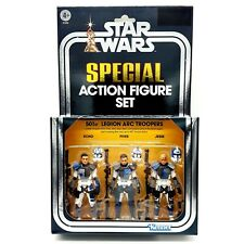 """Star Wars Special Action Figure Set- 501st Legion ARC Troopers - 3,75"""" Hasbro"""