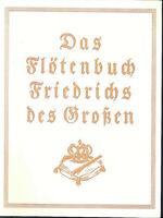 Das Flötenbuch Friedrich's des Großen
