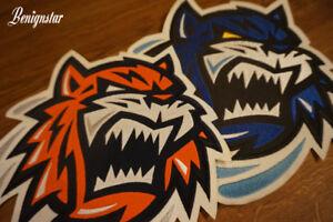 Bridgeport Sound Tigers AHL Hockey Logo Jersey Patch Crest x3