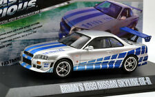 1/43 FAST & FURIOUS COLLECTION BRIAN'S 1999 NISSAN SKYLINE GT-R R34 GREENLIGHT