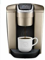 Keurig K-Elite Coffee Maker, Single Serve K-Cup Pod Coffee Brewer, Brushed Gold
