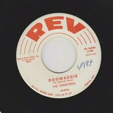 "The Threeteens ""Doowaddie & Dear 53310761"" Elvis Novelty, Duane Eddy on Guitar"