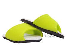 "AFW SLIP ON SANDAL LIME GREEN for 18"" Dolls NEW Shoes Summer Slip on Flats"