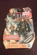 "New 2011 Thor Blade Battle Marvel's Hogun Figure 4"" Detachable Blades #09 Hasbro"