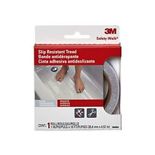 3M Safety-Walk Tub and Shower Tread, Clear, 1-Inch by 180-Inch