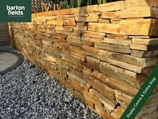 Golden Quartz Walling, Beautiful Irish Natural Drystone Walling, Per 3.5m2 Crate