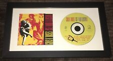 DUFF MCKAGAN SIGNED GUNS N ROSES USE YOUR ILLUSION FRAMED CD w/EXACT PROOF