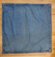 New listing 2 Ralph Lauren Blue Denim Jean European Euro Pillow Sham