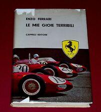 LE MIE GIOIE TERRIBILI * SIGNED ENZO FERRARI * Hardbound 1962 1st with DJ