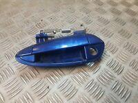 FIAT PUNTO DOOR HANDLE EXTERIOR NSF PASSENGER FRONT A9972DX 599/A BLUE 2006