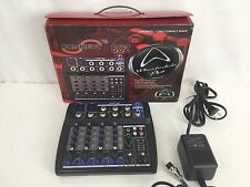 WHARFEDALE PRO CONNECT 802 6 CHANNEL PROFESSIONAL MIXER IN BOX