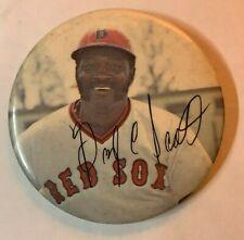Vintage 1970's Boston Red Sox George Scott Boomer Pinback Pin