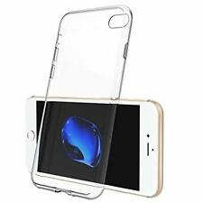 For iPhone 7 Case Clear Silicone Slim Gel Cover & Stylus Pen