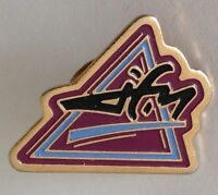 JFM Radio Station Pin Badge Rare Vintage (J5)