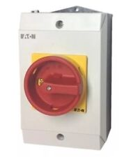 T0-2-1 / I1 / SVB Eaton MOELLER 20A disconnecting switch IP65 Rotary Isolator
