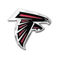 Team ProMark NFL Atlanta Falcons Aluminum Color Car Truck Emblem Sticker Decal