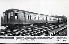 Pamlin repro photo postcard M3431 Mersey Railway 3 car train Birkenhead 1952