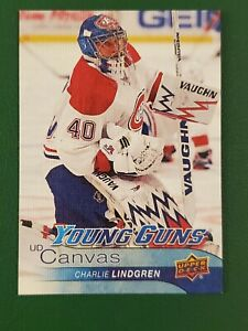 2016-17 Upper Deck Young Guns Canvas #C103 CHARLIE LINDGREN RC