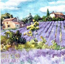 4 x Decoupage Napkins Decopatch Lavender Fields Forever