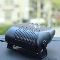 12V Portable Car Heater Fan Vehicle Ceramic Heating Defroster Demister 150W