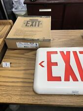 Dual Lite Exit Sign With Battery Backup93048322 Eveurwei