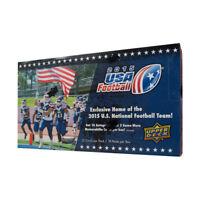 2015 Upper Deck USA Football Hobby Box