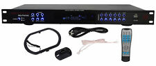 "Rockville RDJT6700 19"""" Rack Mount Digital AM/FM Radio Tuner Receiver With USB/S"