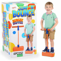 Bungee Hopper Soft Pogo Stick Jump N Bounce Space Balance Exercise Toy Gift Kids