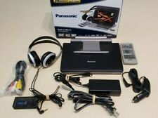 New listing Panasonic Portable Dvd Player Dvd-Lx95 9-Inch w Original Packaging Ex Condition