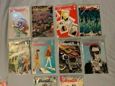 Elementals Lot of Ten Books  #1, 3-6, 9-13 (1985 Comico) VF+ Condition
