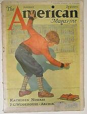 The American Magazine January 1933   vtg ads