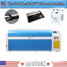 Dsp 100w 1060 Co2 Cutting Laser Machine Usb Auto Focus Engraver Machineampchiller