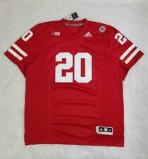 Men's Adidas NCAA Nebraska Cornhuskers Game Football Jersey Scarlet sz L XL