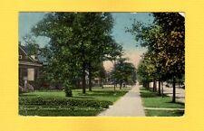 Birmingham,AL Alabama Norwood Residence Section, sidewalk tree line  used 1917
