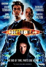NEW  2DVD - DOCTOR WHO - BBC - THE END OF TIME - 1 & 2 - DAVID TENNANT -T DALTON